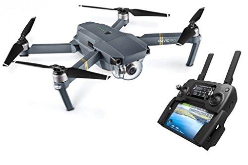 DJI Mavic Pro Quadcopter Drohne mit Kamera, grau