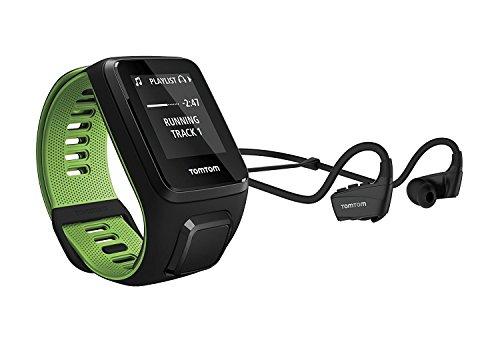 TomTom Runner 3 Musik GPS-Sportuhr Inkl. Bluetooth Kopfhörer (3GB Speicherplatz für Musik, Routenfunktion, Multisport-Modus, 24/7 Aktivitäts-Tracking)