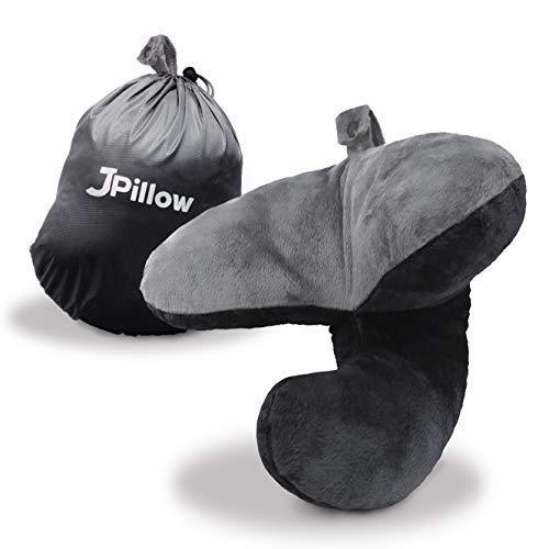 J-pillow Reisekissen - Gewinner der Britischen Erfindung des Jahres (Schwarz)