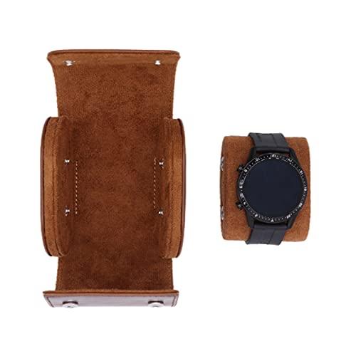 Crazyfly Uhrenrollen-Box, multifunktionale Uhrenrolle, Reise-Etui, Leder-Uhrenrolle, Organizer, Aufbewahrung, Organizer, Geschenk für Männer, Vater und Freund