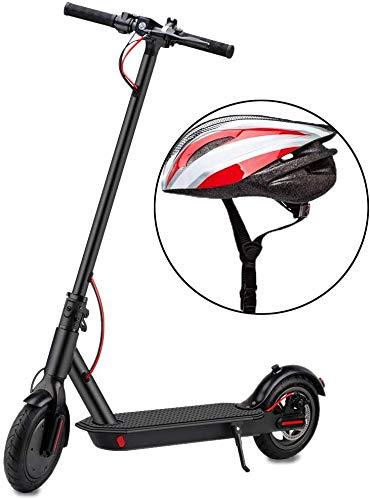 YONOS Elektroroller,350W Motor Erwachsener Elektro Scooter mit 8,5' Vollgummireifen LED Scheinwerfer & Display, bis zu 15,5 MPH & 16 Meilen Faltbarer E-Scooter für Pendler und Reisen