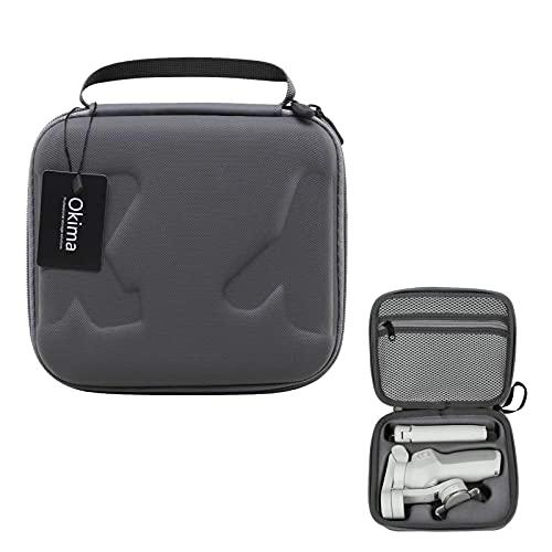Pashali Reisetasche f¨¹r DJI OM4 - Tragbare Aufbewahrungstasche Hardshell-Tasche F¨¹r DJI Osmo Mobile 3 oder 4 Gimbal Stabilizer und Zubeh?r-Grau