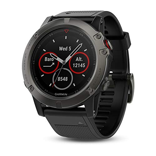 Garmin Fenix 5X Saphir Multi-Sport GPS-Uhr Einheitsgröße