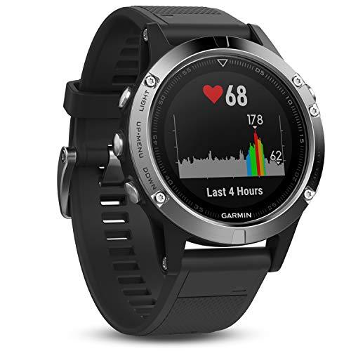 Garmin fēnix 5 GPS-Sportuhr – umfangreiche Multisport- & Navigationsfunktionen, robustes & hochwertiges Design