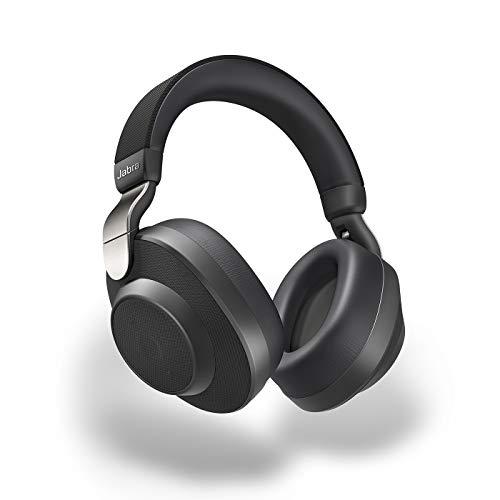 Jabra Elite 85h Bluetooth Active Noise Cancelling Kopfhörer (Over Ear, bis zu 36 Std. Akkulaufzeit mit ANC, SmartSound Technologie, Sprachsteuerung, Alexa, Siri, Google Assistant) titanium schwarz