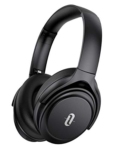 Active Noise Cancelling Kopfhörer TaoTronics Bluetooth 5.0 Kopfhörer Over Ea 40 Hours Playtime CVC 8. 0 Noise Cancelling Mikrofon für Smartphones Tablets Laptops [Upgrated Version]