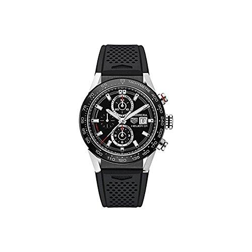 TAG Heuer Carrera Herren-Armbanduhr 43mm Automatik CAR201Z.FT6046