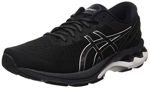 ASICS Herren Gel-Kayano 27 Road Running Shoe, Black/Pure Silver, 44 EU