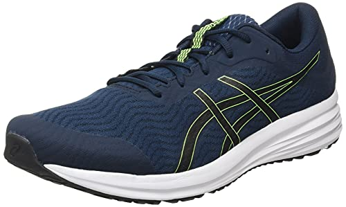 ASICS Herren Patriot 12 Running Shoe, French Blue/Black, 45 EU