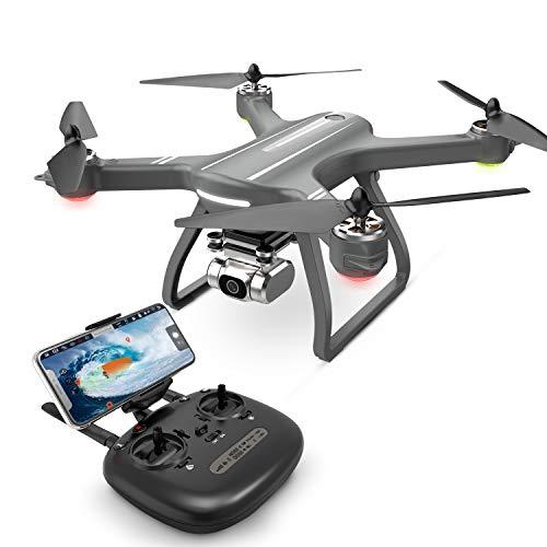 Eanling GPS Drohne HS700D mit 4K Kamera,5G WLAN Live Übertragung,Automatische Rückkehr,Follow Me,RC Quadrocopter ferngesteuert mit Lange Flugzeit,brushless Motor live Video für Anfänger und Experte