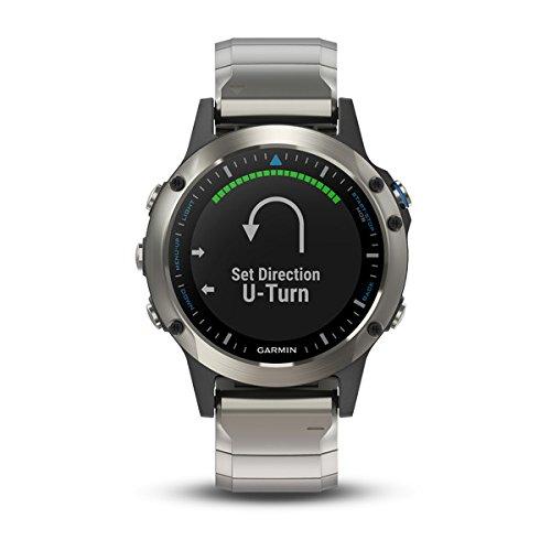 Garmin 010-01688-42 quatix5 Saphir GPS-Smartwatch Marine