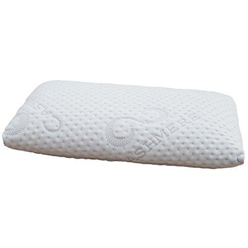 FMP Matratzenmanufaktur Orthopädisches Nackenstützkissen viscoelastisches Kissen, Visco Kopfkissen, Kissen, Nackenkissen 11 cm hoch, weiß
