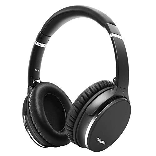 Hybrid Active Noise Cancelling Kopfhörer, 40 Plus Std. Spielzeit für iOS Android TV PC (Generalüberholt)