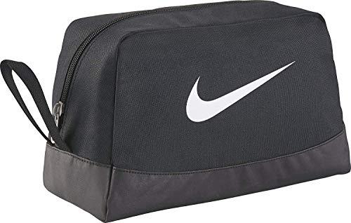 NIKE Rucksack Nike Club Team Swsh Toiletry, schwarz (Black/White), 27 x 16 x 16 cm, BA5198-010