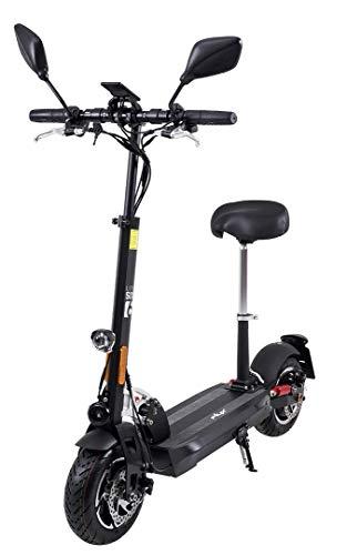 eFlux Lite Six Elektroroller Scooter - mit Straßenzulassung - bis 40 Km/h - 1000 Watt Motor - LED Scheinwerfer