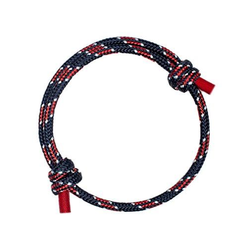 Wind Passion Höchste Qualität Stilvolle Geflochtene Nautic Armband für Männer
