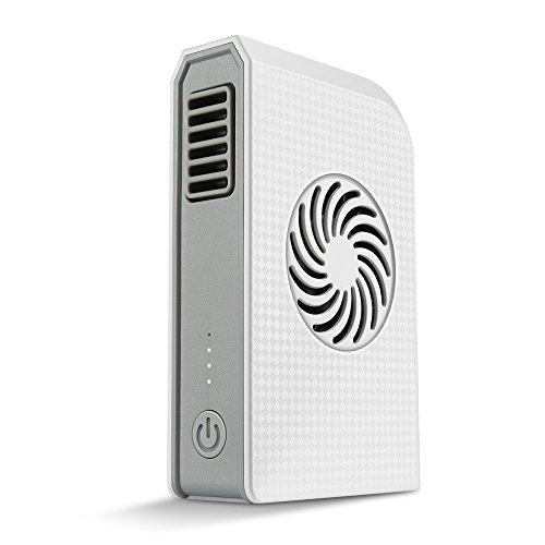 USB Mini Ventilator Tragbare Persönliche Fan Mit 6000mah Power Bank Hand & Tisch ventilatoren besten für reisen, die schule, das büro, küche, outdoor sport, camping (weiße)