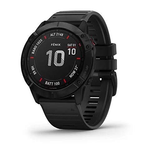Garmin Fenix 6X Saphir Smartwatch Schiefergrau/Schwarz 010-02157-11