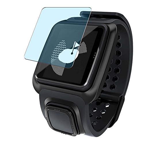 Vaxson 3 Stück Anti Blaulicht Schutzfolie, kompatibel mit TomTom Golfer GPS Watch smartwatch Smart Watch, Displayschutzfolie Bildschirmschutz [nicht Panzerglas] Anti Blue Light