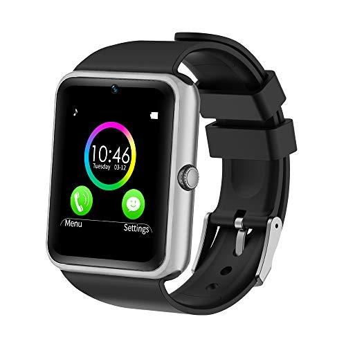 YAMAY Bluetooth Smartwatch Fitness Uhr Intelligente Armbanduhr Fitness Tracker Smart Watch Sport Uhr mit Kamera Schrittzähler Schlaftracker Romte Capture Kompatibel mit Android Smartphone