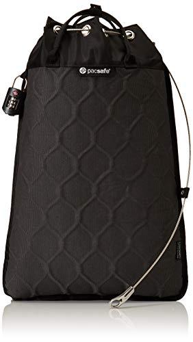 Pacsafe Travelsafe 12L - Mobiler Safe mit TSA-Zahlen Schloß, Trage-Tasche mit Anti-Diebstahl Technologie, 12 Liter Volumen, Anthrazit/Charcoal