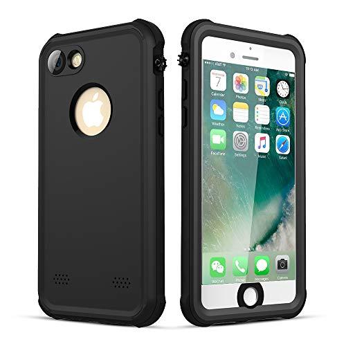 wasserdichte für iPhone 7 Hülle, iPhone 8 Hülle, IP68 360 Grad Wasserdicht Handyhülle,Regen,Unterwasser Gehäuse Hülle für iPhone 7/8