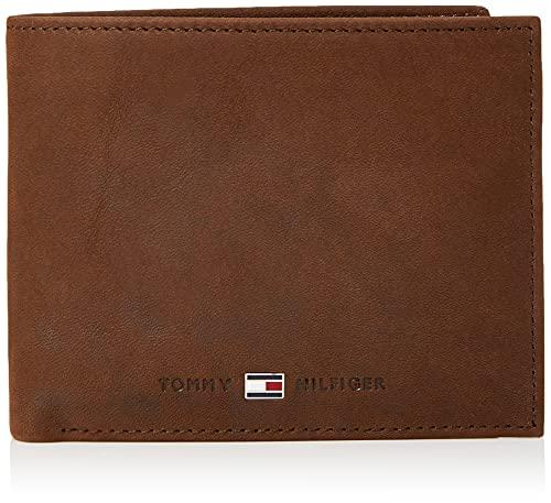Tommy Hilfiger JOHNSON TRIFOLD AM0AM00665 Herren Geldbörsen 13x10x2 cm (B x H x T), Braun (Brown 041)
