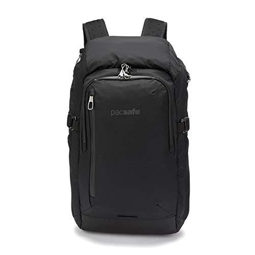 Pacsafe Venturesafe X30 GII Anti-Diebstahl Rucksack, 210D Nylon Diamond Ripstop, Reiserucksack, Reisegepck mit Sicherheitstechnologie, 30 Liter, Schwarz/Black