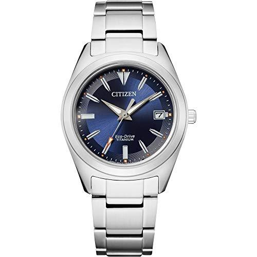Citizen Damen Super Titan Solar Quarz Armbanduhr Eco-Drive - FE6150-85L