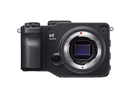 Sigma sd Quattro spiegellose Systemkamera (33 Megapixel, 7,6 cm (3 Zoll) Display, SD-Kartenslot, SDHC-Kartenslot, SDXC-Kartenslot, Eye-Fi-Kartenslot) schwarz