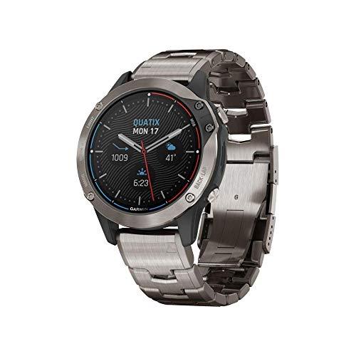 Armbanduhr Garmin QUATIX 6 TITANIO 010-02158-95