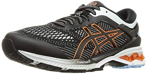 Asics Herren Gel-Kayano 26 Running Shoe, Black/Polar Shade, 44 EU