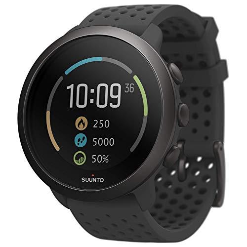 Suunto 3 Sportuhr mit Herzfrequenzmessung am Handgelenk, 24/7 Activity Tracker und Regenerationsüberwachung