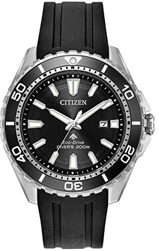 CITIZEN Herren Analog Solar Uhr mit PU Armband BN0190-15E