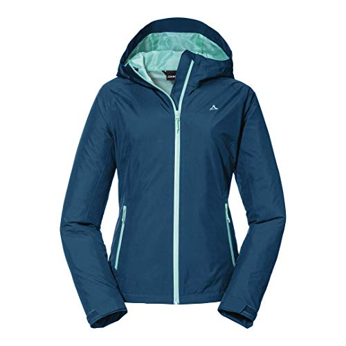 Schöffel Damen Jacket Wamberg L Jacke, Moonlit Ocean, 42 EU