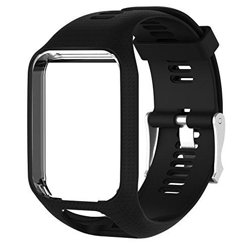 TPE Armband für TomTom Adventurer Golfer 2 Runner 2/3 Spark/Spark 3 GPS Sportuhr