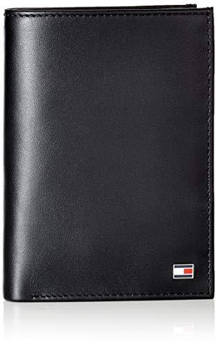 Tommy Hilfiger Herren Eton N/S Wallet W/Coin Pocket Geldbörse Schwarz (Black)
