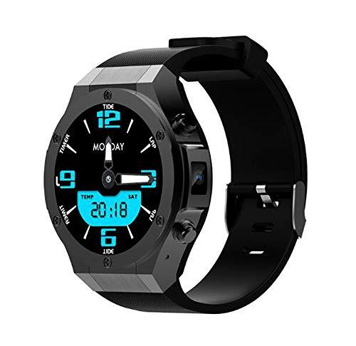 QJXF Smart Watch Android 5,1 3G Smartwatch 1GB 16GB Tragbare Geräte Mit GPS Wifi Smartwatch Für iPhone Android,Black