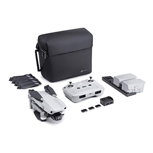 DJI Mavic Air 2 Fly More Combo – Drohne mit 4K Video-Kamera in Ultra HD, 48 Megapixel Fotos, 1/2' Zoll CMOS-Sensor, 34 Minuten Flugzeit, ActiveTrack 3.0, 3-Achsen-Gimbal – Grau