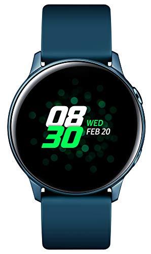 Samsung Galaxy Watch Active, Bluetooth Fitnessarmband Für Android, Fitness-Tracker, 40 mm,wassergeschützt , Grün (Deutche Version)