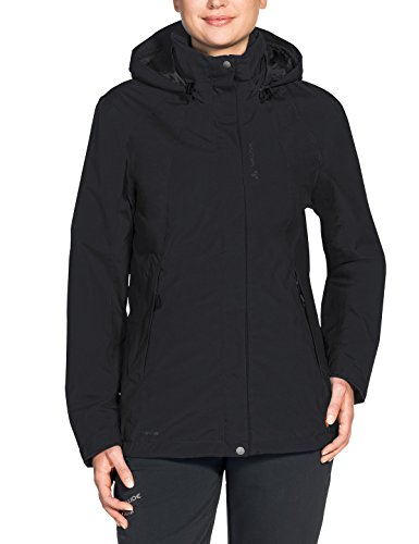 VAUDE Damen Doppeljacke Women's Kintail 3in1 Jacket IV, black, 38, 406910100380