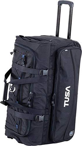TUSA - Dive Gear Roller Duffle Bag in Schwarz