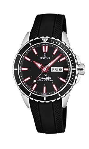 Festina Herren Analog Quarz Uhr mit PU Armband F20378/2