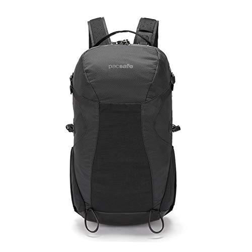 Pacsafe Venturesafe X34 Anti-Diebstahl Rucksack, Wanderrucksack, Trekkingrucksack mit Sicherheitstechnologie, 34 Liter - Schwarz/Black
