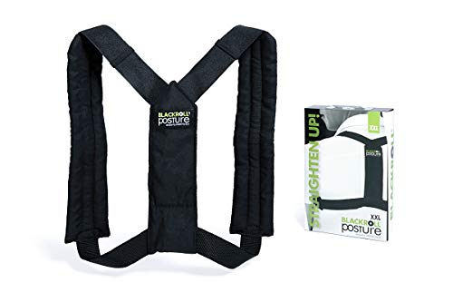 BLACKROLL® POSTURE Haltungstrainer - Einfach anzuwendender Rückengurt zur Haltungskorrektur von Rücken & Schultern - für eine verbesserte Körperhaltung (S-L)