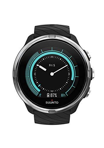 Suunto 9 GPS-Sportuhr mit langer Batterielaufzeit und Herzfrequenzmessung am Handgelenk