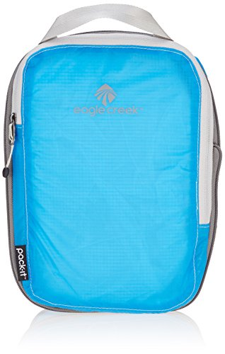 Eagle Creek Packtasche Pack-It Specter Compression Cube platzsparende Kofferorganizer für die Reise, S, blau