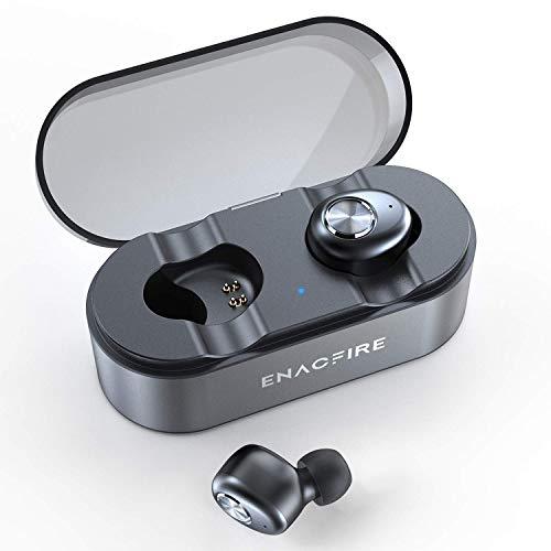 Bluetooth Kopfhörer V5.0, True Wireless TWS Kopfhörer mit 20 Stunden Ladebox, Bluetooth In Ear Oreillettes IPX6 Wasserdicht Sport Kopfhörer für Apple Airpods Android Ipad