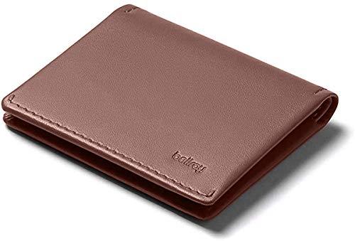 Bellroy Leather Slim Sleeve Wallet, Minimalistische Geldbörse mit Fronttasche - Cocoa Java