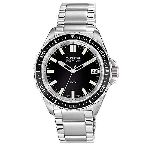 Dugena Herren-Armbanduhr Nautica XL - Sport Line Analog Quarz Edelstahl 7090175